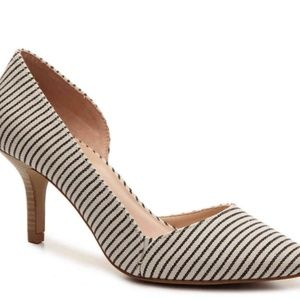 NWOT Kelly & Katie Thilima Striped Pump